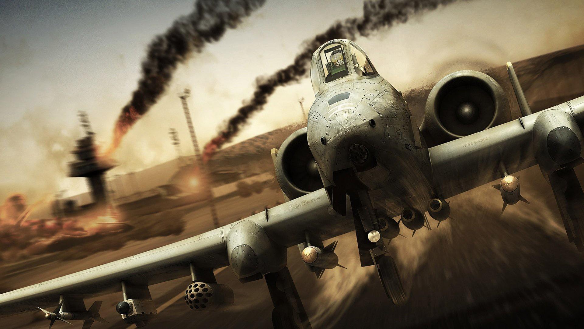 游戏 战争游戏 空战 A10攻击机 游戏壁纸壁纸